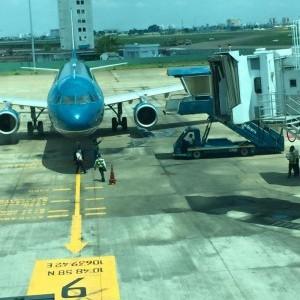 11/28 海外研修 飛行機