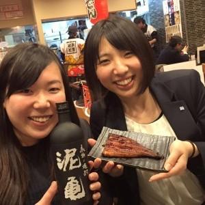 11/28 飲み会 越智さん高橋さん