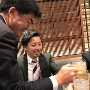 11/28 飲み会 鈴木部長 松田さん