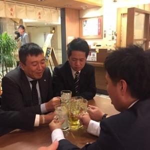 松田真治さん中心飲み会