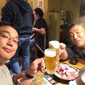 沖縄 飲み会 松田さん、飯野さん